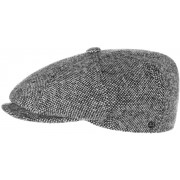 Tweed Schildmütze