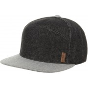 Denim Panel Cap