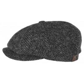 Hatteras Herringbone Flatcap