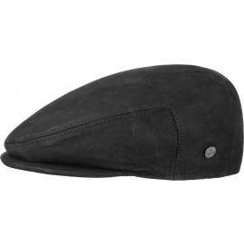 Leder Flatcap