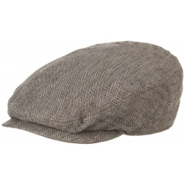 Woodfield Linen Flatcap