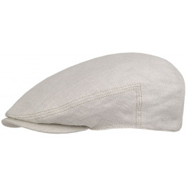 Woodfield Linen Flat Cap