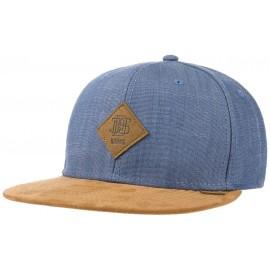 Linen Snapback Cap