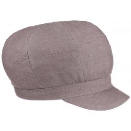 Mütze Kappe Cap Leinen Ballonmütze