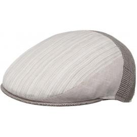 Mütze Leinen Baumwoll Flatcap