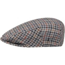 Inglese Hahnentritt Flatcap Schirmmütze