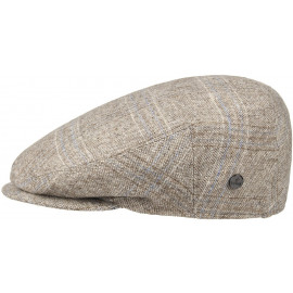 Inglese Flatcap mit Karomuster Schirmmütze