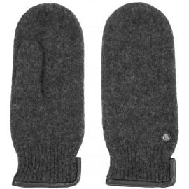 Handschuhe Fäustling mit Lederpaspel