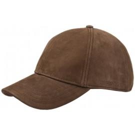 Ledercap Kappe Plaint Nubuk Cap