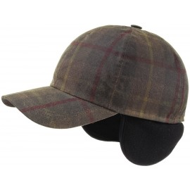 Cap Kappe Perry Waxed Cotton Earflap Cap
