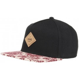 5 Panel Feather Snapback Cap