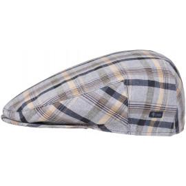 Schirmmütze Karocap Schiebermütze Inglese Cotton Flatcap
