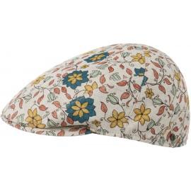 Firalia Blumen Schirmmütze Schiebermütze Flatcap