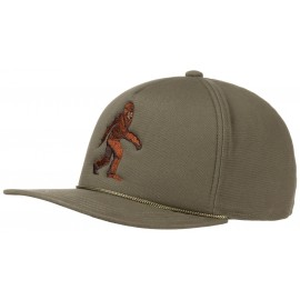 The Lore Yeti Snapback Cap Flatbrim Basecap Baseballcap Kappe