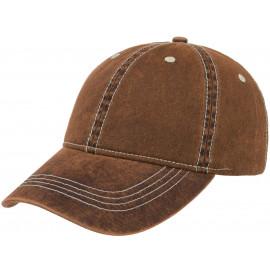 Washed Denim Baseballcap Cap Kappe Baumwollcap Denimcap Jeanscap 6 Panel Freizeitcap Basecap