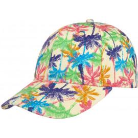 Colour Palms Baseballcap Baumwollcap Cap Kappe Basecap Baseballmütze Baumwolkappe Sonnencap