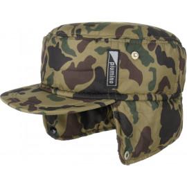 Camouflage Armycap mit Ohrenklappen Cap Wintercap Ohrenschutz