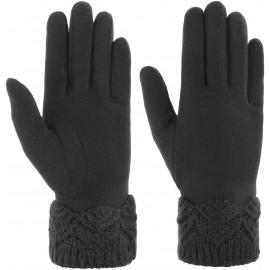 Ribbed Edge Damenhandschuhe Handschuhe Fingerhandschuhe Baumwollhandschuhe