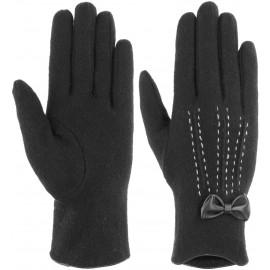 Wollhandschuhe mit Schleife Handschuhe Fingerhandschuhe Damenhandschuhe