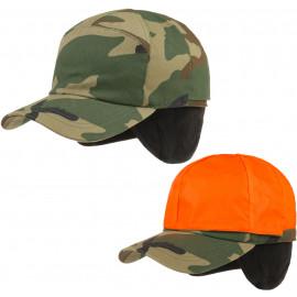 Signal Cap mit Futter und Ohrenklappen Outdoorcap Jägercap Jagdcap Cap Basecap Wintercap